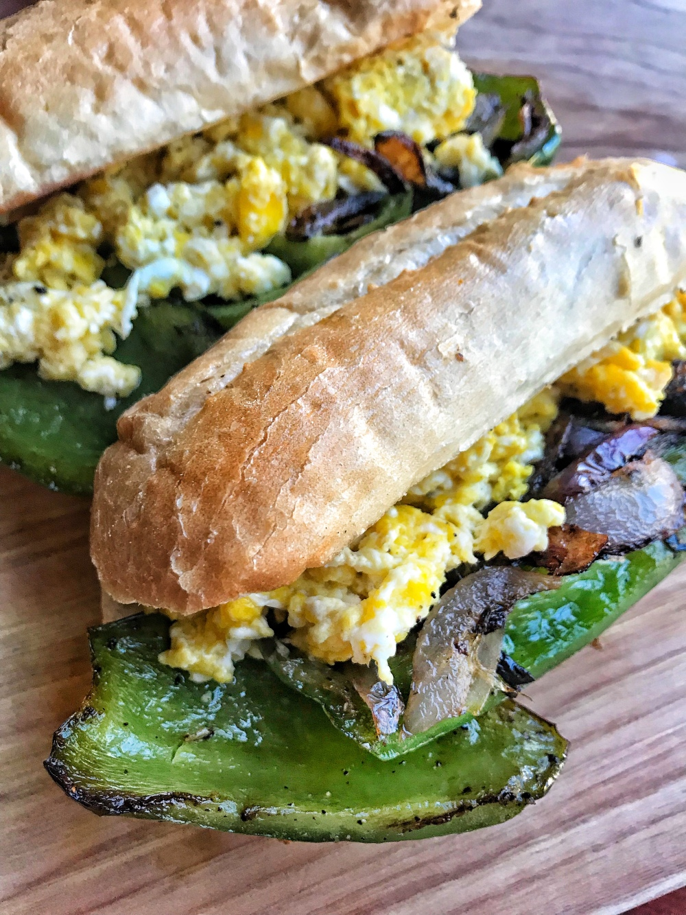 Classic pepper egg sandwich the tipsy housewife a classic pepper egg sandwich makes for a great meatless supper serve with a bowl of soup or your favorite salad the key to a great pepper and egg are forumfinder Image collections